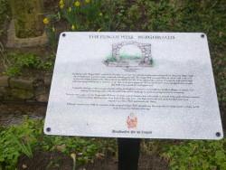 Plague well memorial