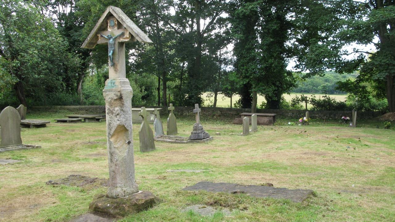 Saxon cross at St Helen's church
